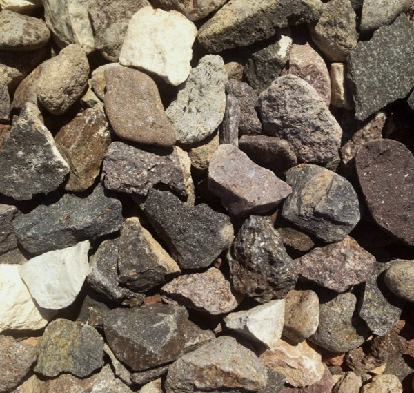 The rock place utah landscape supply 1 inch decorative for Landscaping rocks tooele utah