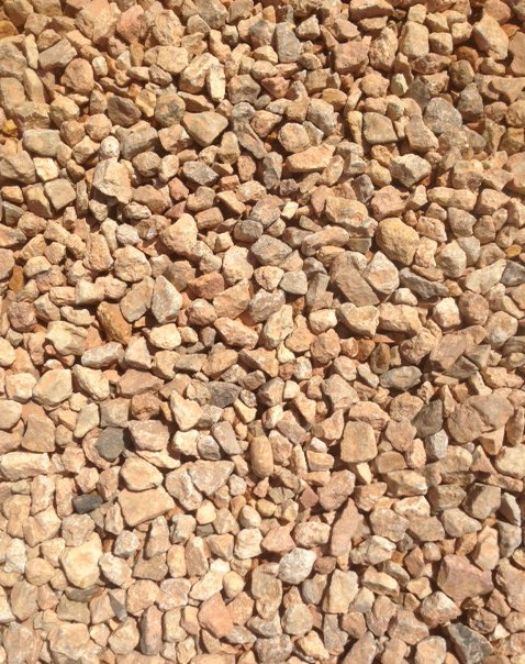 Utah Gold - The Rock Place Utah Landscape Supply 1/2 Inch Decorative